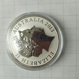 1 доллар 2013 г Австралия, фото №3