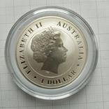 1 доллар 2014г Австралия 1 унция, фото №3