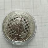 1 доллар 2020 остров Св Елены 1 унция, фото №3