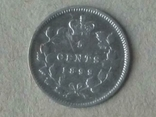 Канада 5 центов 1899г. Серебро.Королева Виктория., фото №3
