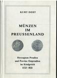 Рідкісний каталог Курт Дост Монети в Пруссії. 1525-1821, фото №2