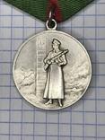 Медаль за отличие в охране государственной границы СССР. Копия, фото №3