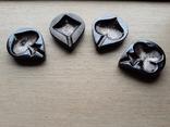 Пепельницы игральные карты масти покер, фото №3