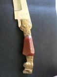Нож ИТК , Номерной С 53964 , ВТК ( ручна робота) зекпром, фото №3