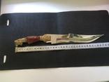 Нож ИТК , Номерной С 53964 , ВТК ( ручна робота) зекпром, фото №8