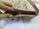 Фирменная сумочка Karen Millen с перьями страуса. Англия. Без ручки 22х18см, фото №9