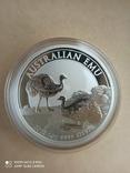 Австралійський Ему 2020 1 унція срібла, фото №4