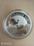 Австралійський Ему 2020 1 унція срібла, фото №5