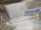 Сумочка на длинной цепочке или клатч. Шелк и металл. 20х10см, фото №11