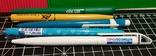 Ручки с логотипами разных фирм, фото №2