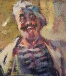 "1985,В.Кнышевский ""Кок"",х.м.35*25см, фото №6"