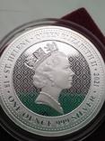 Победа Гармония Достоинства Королевы серебро 999 унция Первая в серии Виктория чудовища, фото №3