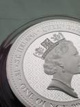 Победа Гармония Достоинства Королевы серебро 999 унция Первая в серии Виктория чудовища, фото №11