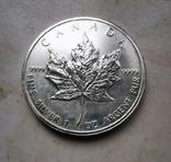 5 долларов 2011, Канада лист, 1oz, фото №2