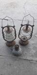 Киросиновые лампы 3 шт., фото №2