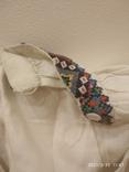 Старинная мужская вышиванка (довоенная ), ручная работа, фото №4
