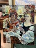 За вышиванием Титаренко Дарья Анатольевна (1968), фото №2