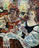 За вышиванием Титаренко Дарья Анатольевна (1968), фото №3