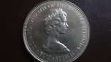 2 доллара 1971 Багамы серебро (Ю.4.4)~, фото №6