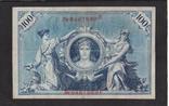 100 марок 1908г. красная печать. 6467989. Германия., фото №3
