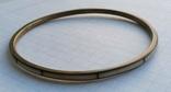 Браслет Бронза с перламутровыми вставками ( тоненький 3.5 мм), фото №3