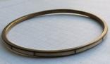 Браслет Бронза с перламутровыми вставками ( тоненький 3.5 мм), фото №2