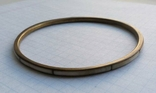 Браслет Бронза с перламутровыми вставками ( тоненький 3.5 мм), фото №4
