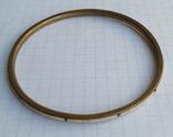 Браслет Бронза с перламутровыми вставками ( тоненький 3.5 мм), фото №7
