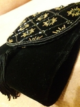 Вечерняя сумка клатч Sorpresa, велюр, бисер, фото №3