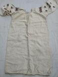Сорочка старинная вышиванка конопляная полотняная Миргородская Полтавская. Рубаха женская, фото №3