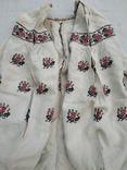 Сорочка старинная вышиванка конопляная полотняная Миргородская Полтавская. Рубаха женская, фото №5