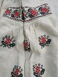 Сорочка старинная вышиванка конопляная полотняная Миргородская Полтавская. Рубаха женская, фото №2