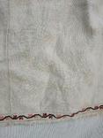 Сорочка старинная вышиванка конопляная полотняная Миргородская Полтавская. Рубаха женская, фото №6