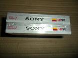 Аудиокассета 2 шт в лоте Sony HF-90 новые запечатанные кассеты, фото №4