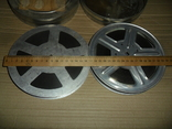 Кинопленка 16 мм 2 шт Панас Мирный (украинский в-т) 2 части, фото №3