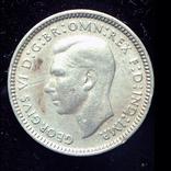 Австралия 3 пенса 1942 серебро, фото №3