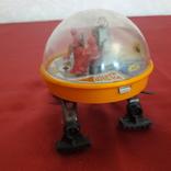 Луноход игрушка СССР, железный локатор, фото №5