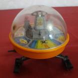Луноход игрушка СССР, железный локатор, фото №6