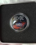 Тираж 1000 шт. 2 Унции The Razors Edge AC/DC Острова Кука 2019 г., фото №12