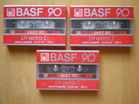 Аудиокассеты BASF 90 LH extra1. W. Germany., фото №2