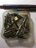 Перьевая ручка 2 шт. и перья 32 шт, фото №7