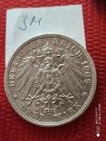 3 марки Вюртемберг 1909г., фото №6