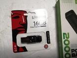 Новая батарея и флеш флешка карта памяти, фото №3