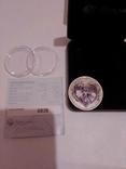 Монета Forever Love, Queen Elizabeth II 50CENTS, Tuvalu 2012 -1шт, фото №4