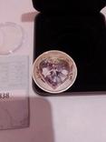 Монета Forever Love, Queen Elizabeth II 50CENTS, Tuvalu 2012 -1шт, фото №5