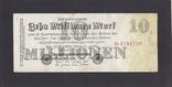 10 000 000 марок 1923г. D-3784738. Германия., фото №2