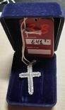 Серебрянный крестик ,2,22гр, фото №6