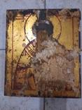 Старая Икона Св. Николай, фото №2