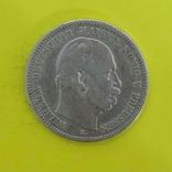 Німецька імперія 2 марки, 1877р. Срібло., фото №2
