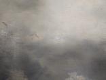 """1900-егг,Нх""""Кораблекрушение"""",фанера.масло,77*92см в раме, фото №8"""